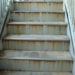 階段鉄部の塗装防水は朝日塗工へ